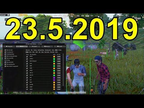 Hack PUBG Mobile PC 18h 2352019 - Phím Insert (INS) Ẩn hiện Menu Hack