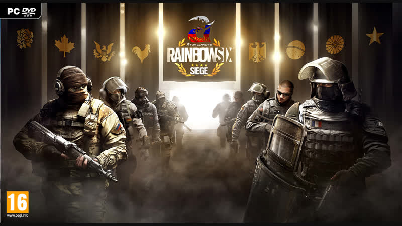 Tom Clancy's Rainbow Six Siege мультиплеер - RusA в роли антитеррористической группы