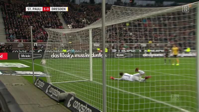 • 15 Spieltag: FC St. Pauli 1:1 SG Dynamo Dresden 01/12/2018