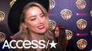'Aquaman': Amber Heard On The 'Strong, Motivated' Mera Working With Jason Momoa | Access
