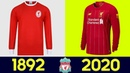 🔥 The Evolution of Liverpool F.C. Football Kit | All Liverpool F.C. Football Kits in History 🔥