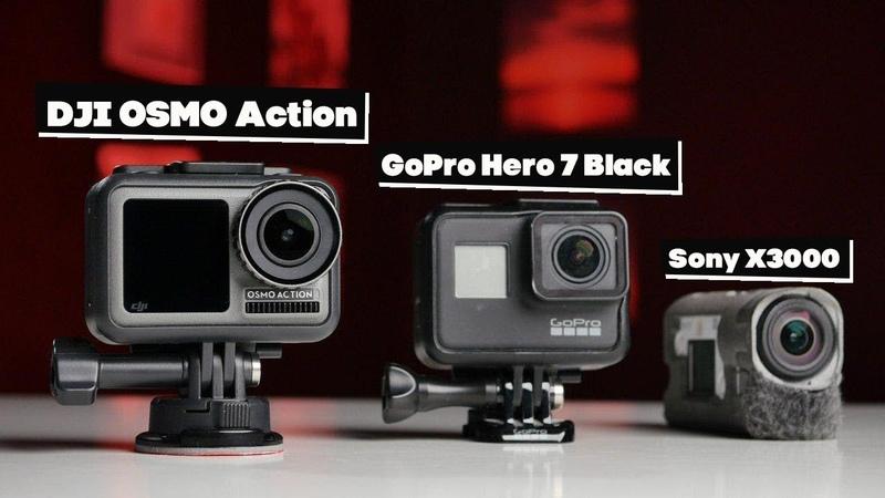 DJI OSMO Action теперь лучшая экшн камера Давайте посмотрим