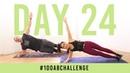 Испытание пресса - 100 боковых планок. Day 24: 100 Side Plank Dippers! | 100AbChallenge w/ Buff Dude