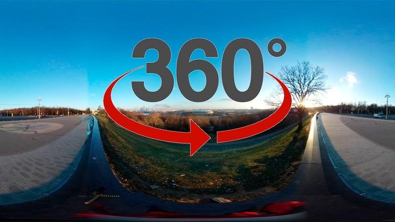 Восход. 360 градусов Time-lapse. Samsung Gear 360