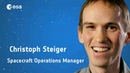 Academic background: Christoph Steiger