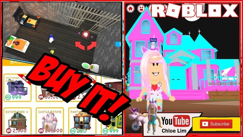 🛋️ Roblox MeepCity Gameplay! Buying the Victorian Estate and making a Jail room! LOUD WARNING!