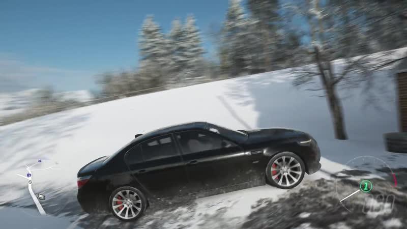 Forza Horizon 4 - BMW M5 E60 - Test Drive - 1080p60FPS