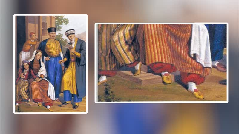 Штанины крымских татарок должны были прикрывать щиколотку