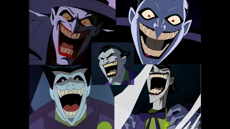 DC Animated Universe ULTIMATE Joker Laugh Compilation MARK HAMILL