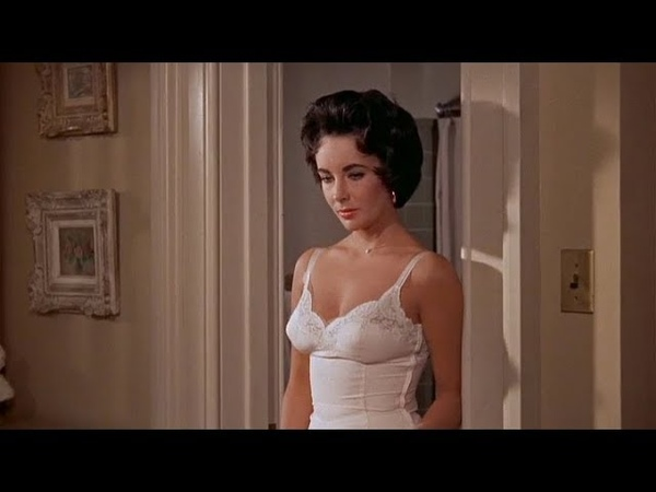 Elizabeth Taylor - Scenes From Cat On A Hot Tin Roof (in HD)