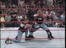 The Rock D'Lo Brown The Godfather and Mark Henry Vs Triple H Road Dogg X Pac and Billy Gunn Street Fight RAW 17 08 1998