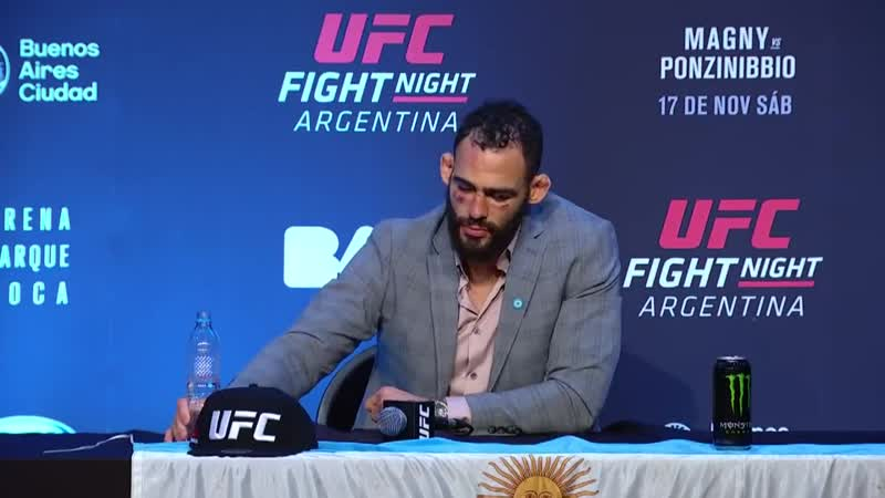 UFC Fight Night Argentina Post fight Press Conference