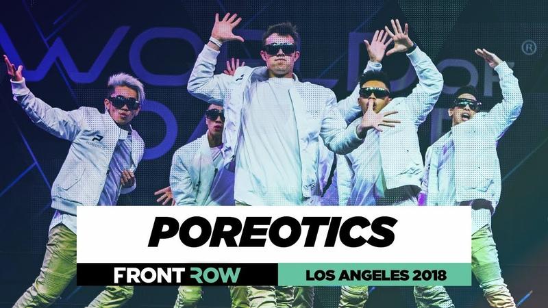 Poreotics | FrontRow | World of Dance Los Angeles 2018 | WODLA18