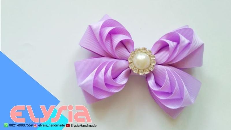Camada de Fita 🎀 Layered Ribbon Bow 🎀 DIY by Elysia Handmade