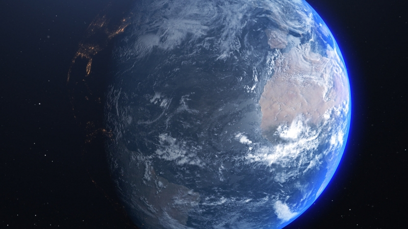 Земля первый пробник Earth 1st try