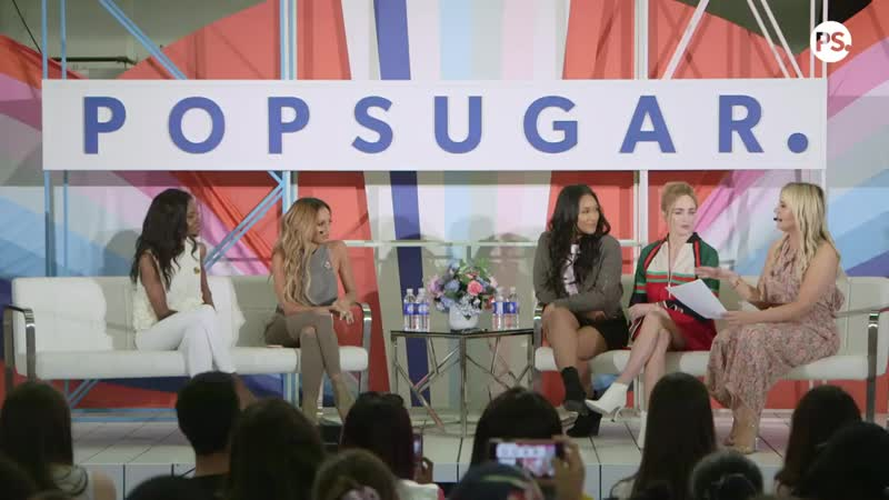 Ashleigh Murray, Candice Patton, Vanessa Morgan, and Caity Lotz Get Real on TV R