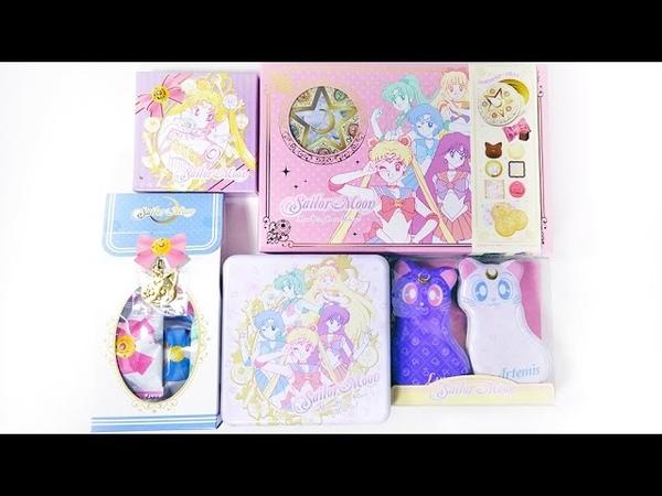 Sailor Moon Merchandise Chocolates Cookies Unboxing 2015