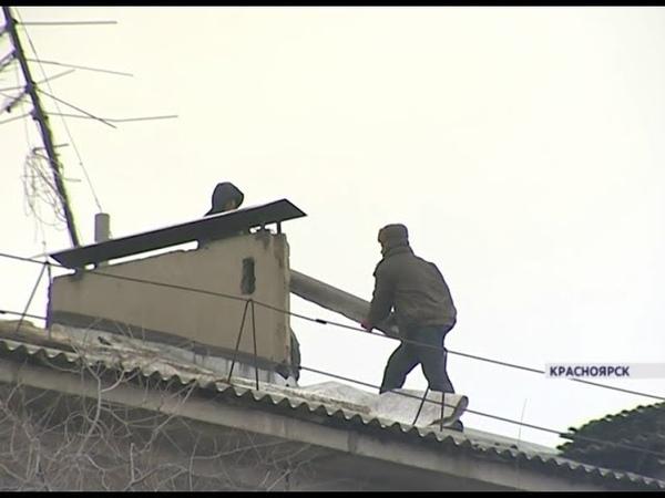 Жители Боготола и Бородино замерзают в квартирах из-за затянувшегося ремонта крыш