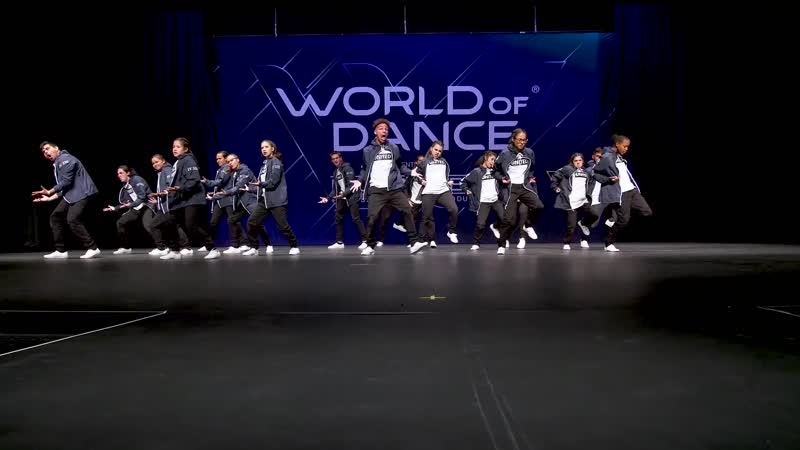 United Prospects 2nd Place Team Division Winners Circle World of Dance Arizona 2018