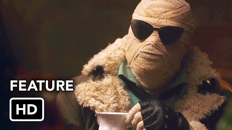 Titans (DC Universe) Doom Patrol Featurette HD
