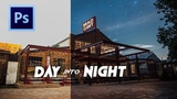 Turn your DAY PHOTOS into NIGHT!