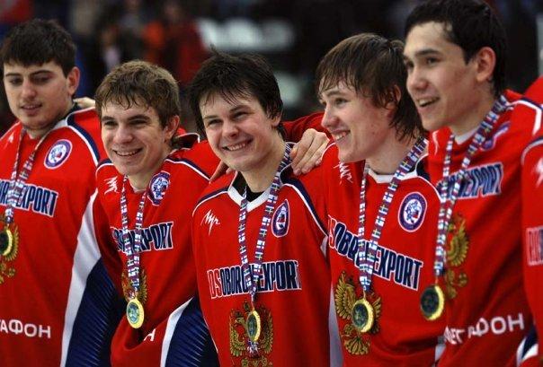 Артем Кислый в форме сборной России