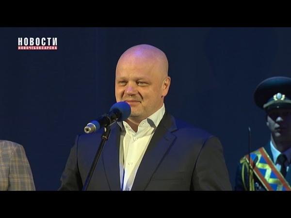 В Новочебоксарске поздравили с профессиональным праздником огнеборцев