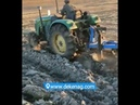 Tractor hydraulic reversible plough