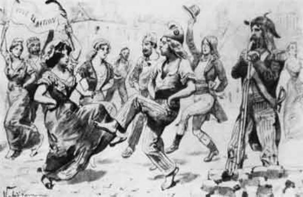 «ÇА IRA», «КАРМАНЬОЛА» И «МАРСЕЛЬЕЗА» Революционная песня известна с самых ранних времен нашей истории. Казаки, гайдуки, восставшие крестьяне распевали то задорные, то печальные песни, которые