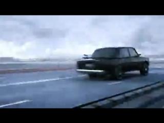 Ford Shelby KITT vs VAZ 2107 3D-анимация