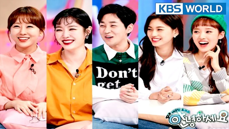 Guests Hanyoung, Kim Saerom, Din Din, Weki Meki (DoyeonSei)[Hello CounselorENG,THA2018.03.05]