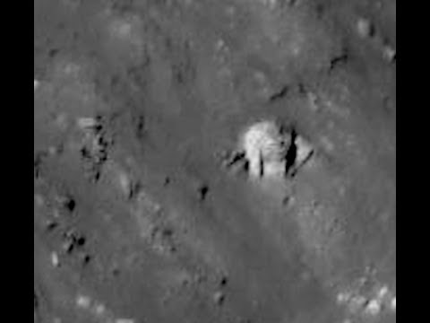 Alien Structure In Crater On Moons Surface UFO Sighting Daily News