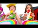 Желейный ЧЕЛЛЕНДЖ Gummy vs Real challenge