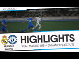 HIGHLIGHTS: FRIENDLY MATCH: REAL MADRID U14 – DYNAMO BREST U15
