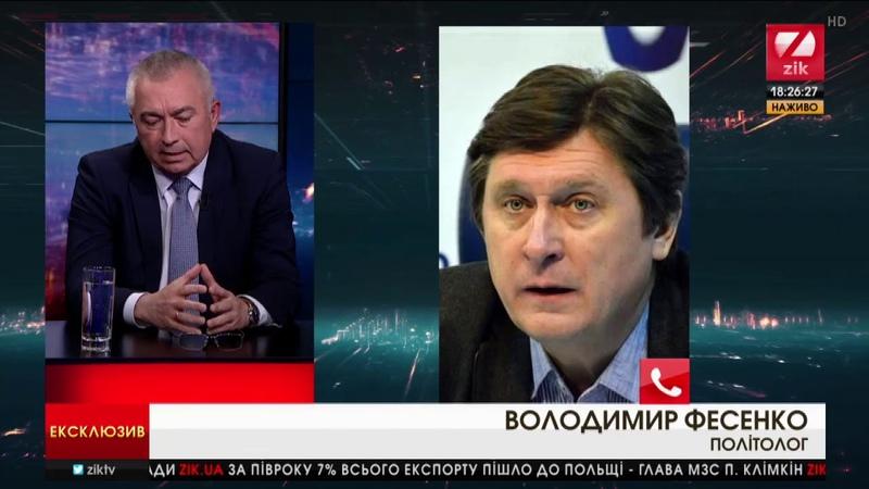 Фесенко Заява Держдуми Росії - істерична реакція на поразки