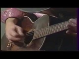 Stevie Ray Vaughan ,rare Gibson L1, maybe 1929, accoustic guitar solo, . 1983avi