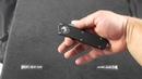 X MT176 4 Microtech Executive Scarab SE Automatic Black Handle Satin Plain
