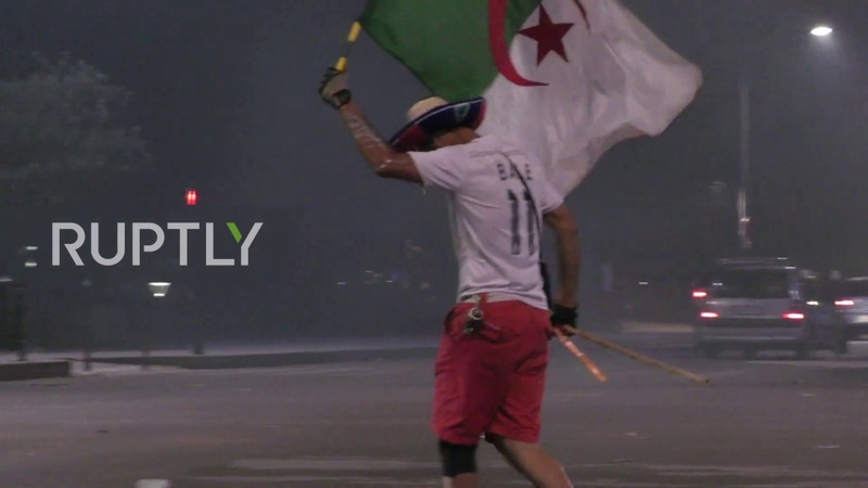 France: Algeria fans clash with police as celebrations turn violent in Lyon
