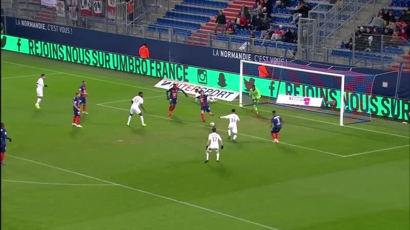 SM Caen - AS Monaco ( 0-1 ) - Résumé - (SMC - ASM) - 2018-19