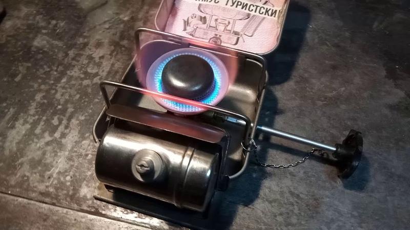 Примус ПТ-1 с тихой горелкой от шмеля