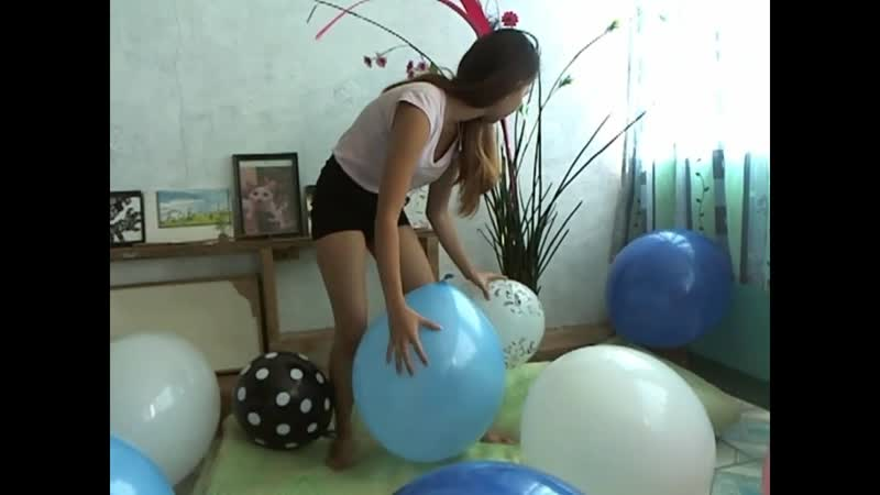 Kimlooner Ly - x10 Big Balloons. Sit and Nail Popped Combo
