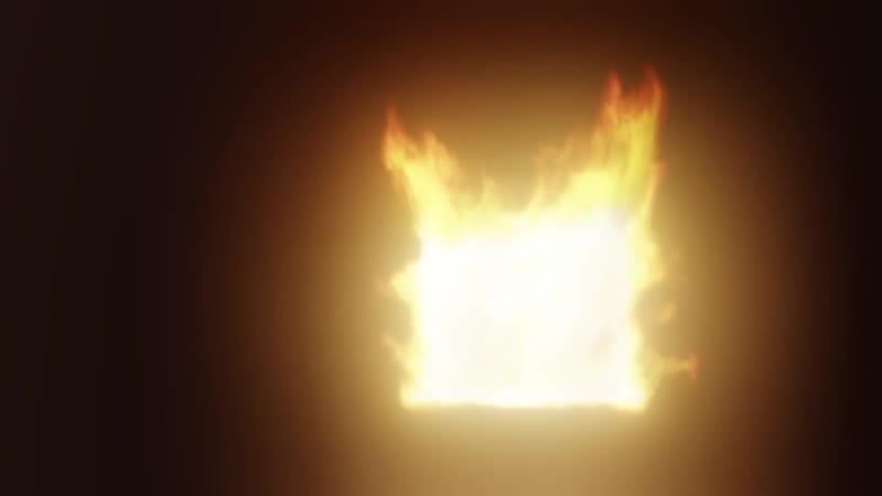 Рендер огненной симуляции через EEVEE