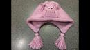 Вяжем детскую шапочку спицами. Шапка «Совушка».