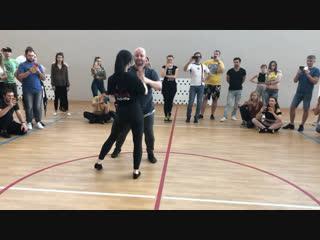 Александр Костенко и Валерия Катайкина, Краснодар 2019 bachata sensual workshop