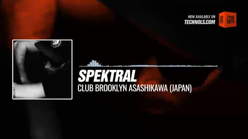 @djspektral - Club Brooklyn Asashikawa (Japan) Periscope Techno music