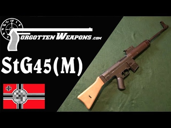 WW2 Mauser Becomes Heckler Koch the StG-45(M), or Gerat 06H