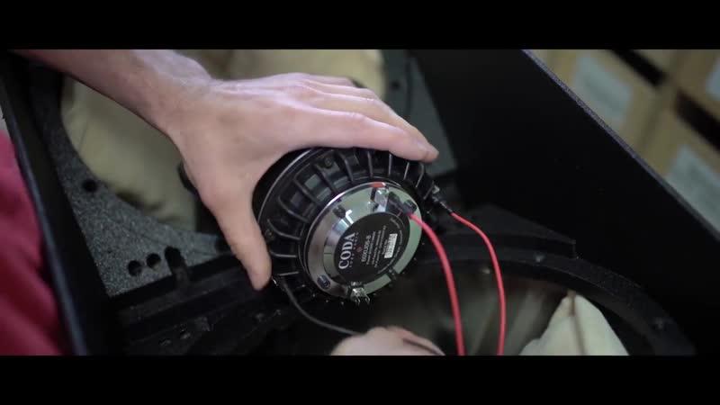 Производство профессиональных акустических систем AiRAY на заводе Coda Audio