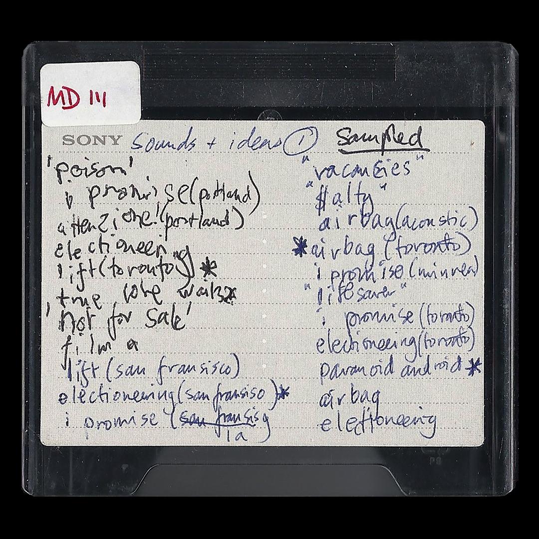 Radiohead - MINIDISCS - HACKED