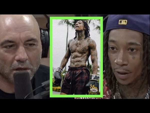 How Wiz Khalifa Started Training Martial Arts and Gained 40 lbs!! | Joe Rogan