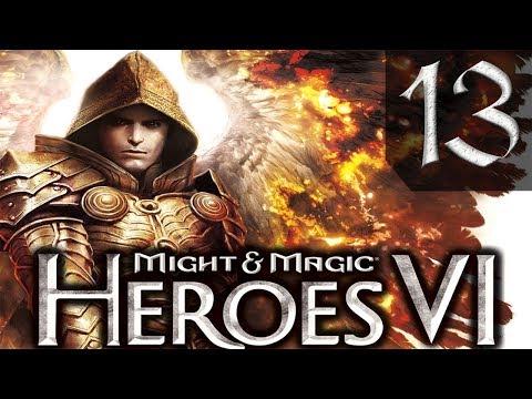 Герои 6 Might Magic Heroes VI Сложно Прохождение 13 Непокорные Племена 3